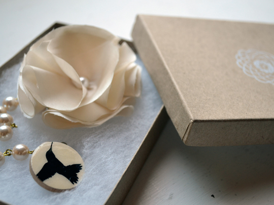 prototype etsy packaging for my cardiclips